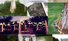 Outdoor Backyard Wedding Ideas For Summer Kevinburrell for Backyard Wedding Ideas Cheap