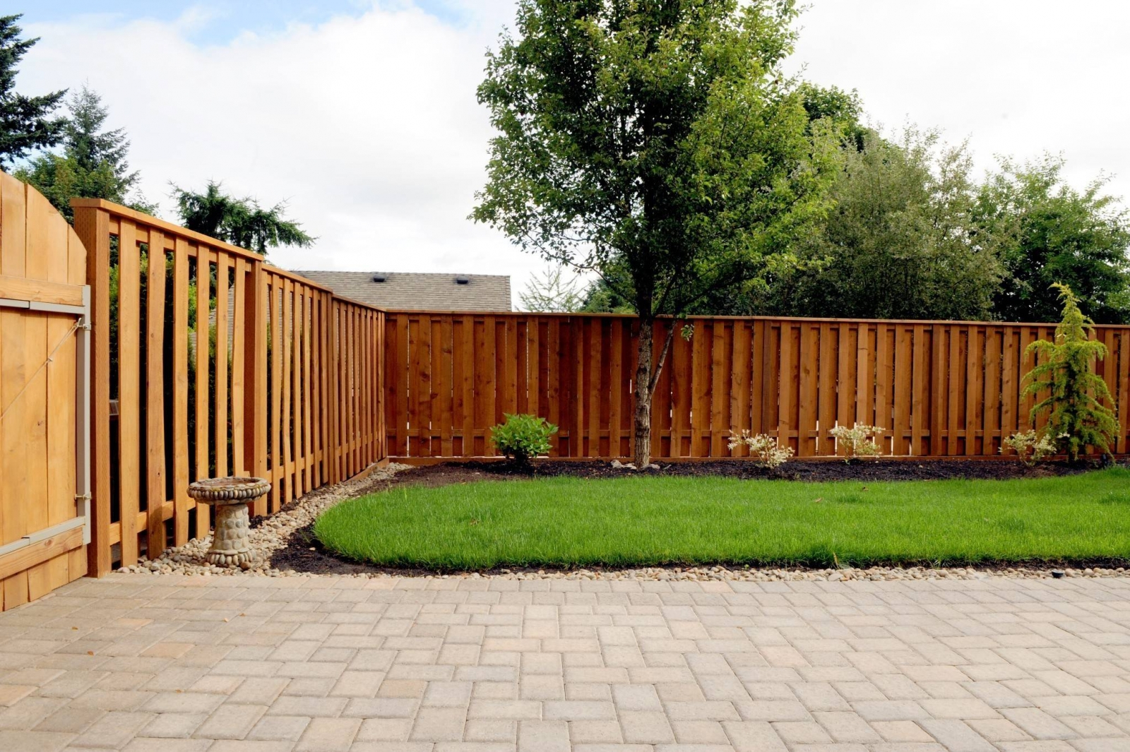 Outdoors Affordable Backyard Fence Ideas For Your Best throughout Backyard Fence Prices