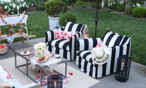 Patio Decorating Ideas 7 Simple Summer Updates Modern Glam regarding 10 Genius Ways How to Make Backyard Patio Decorating Ideas