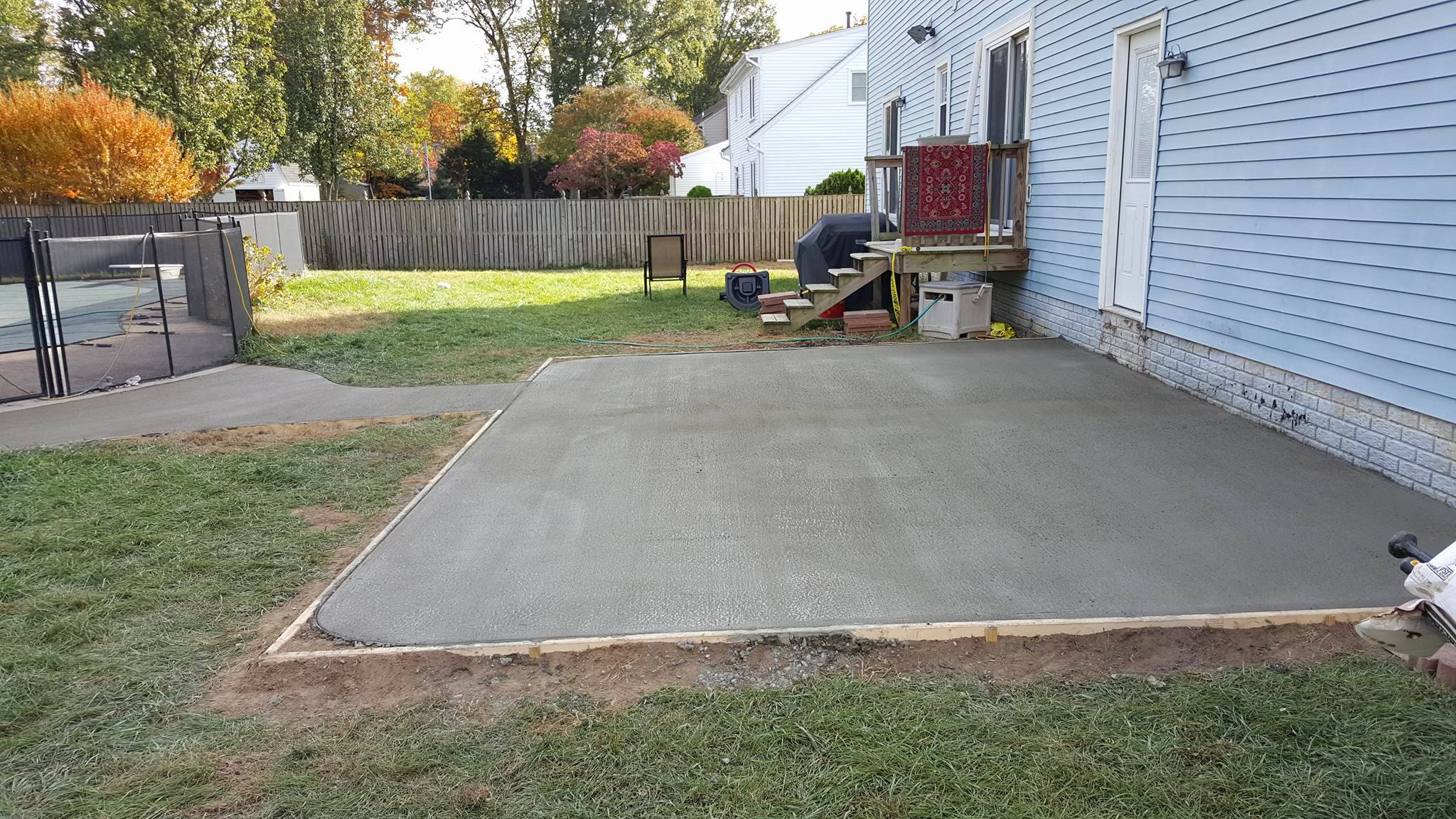 Perfect Cement Slab Patio Ideas And Patio Concrete Slabs inside 14 Smart Tricks of How to Upgrade Backyard Concrete Slab Ideas