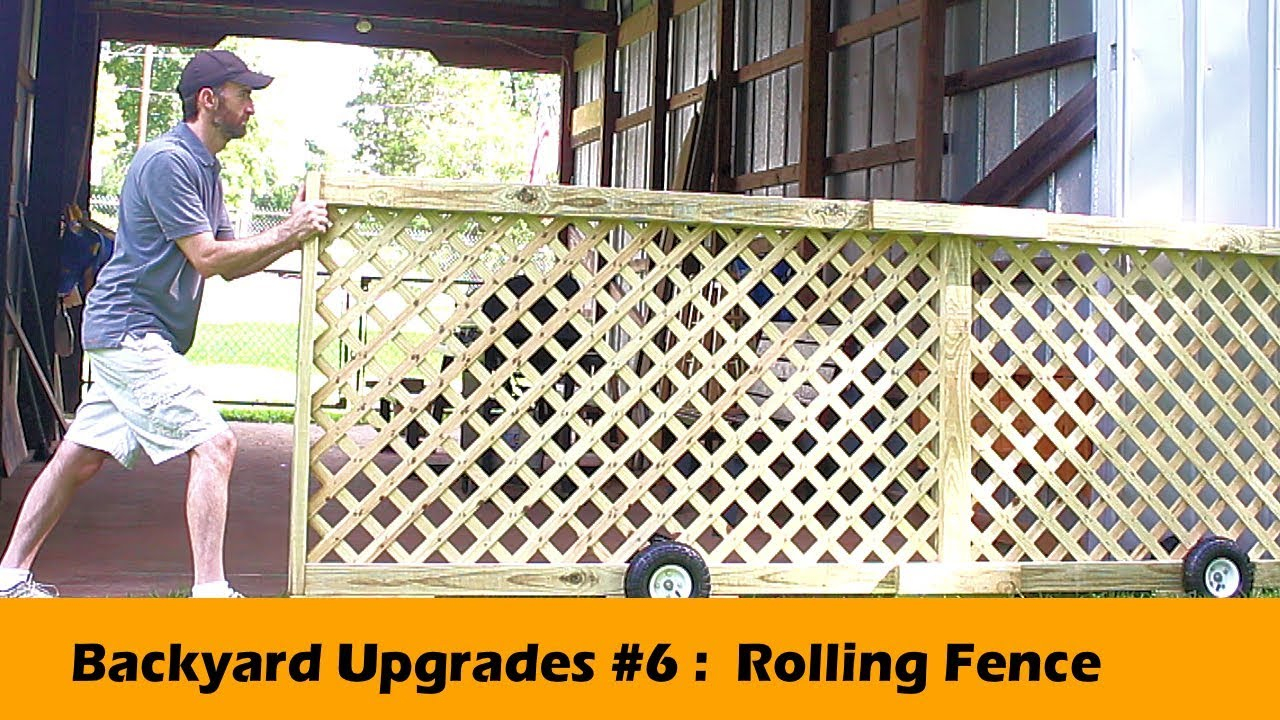 Rolling Fence Gate Diy Backyard Upgrades 6 for 14 Some of the Coolest Concepts of How to Improve Backyard Fence Door