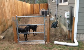 Side Yard Dog Run Our House Projects Outdoor Dog Runs Outdoor for Backyard Dog Run Ideas