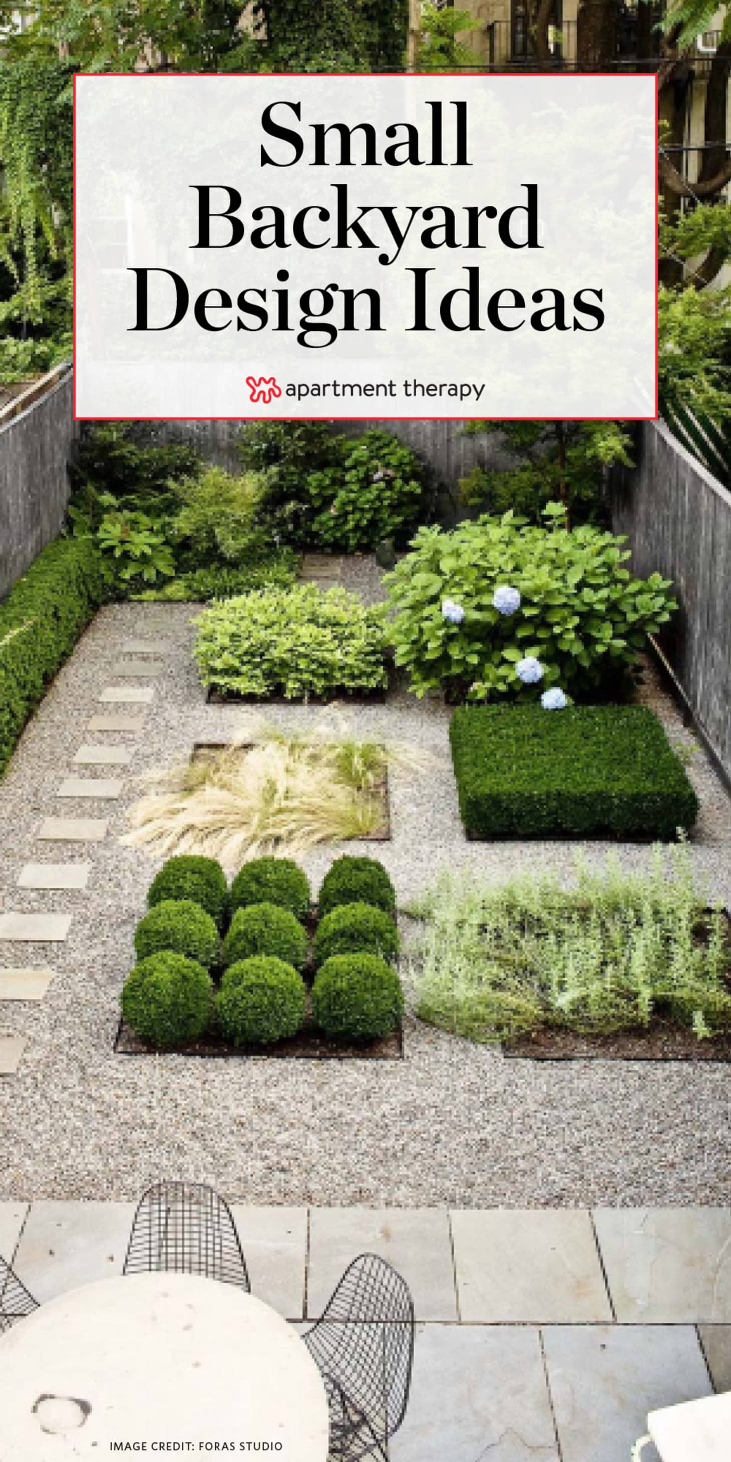 Small Backyard Design Ideas Inspiration Apartment Therapy throughout 13 Smart Concepts of How to Craft Backyard Pictures Ideas