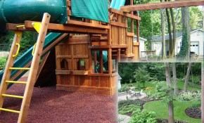 Small Backyard Playground Ideas For Kids With Pictures with 13 Clever Tricks of How to Upgrade Small Backyard Playground Ideas