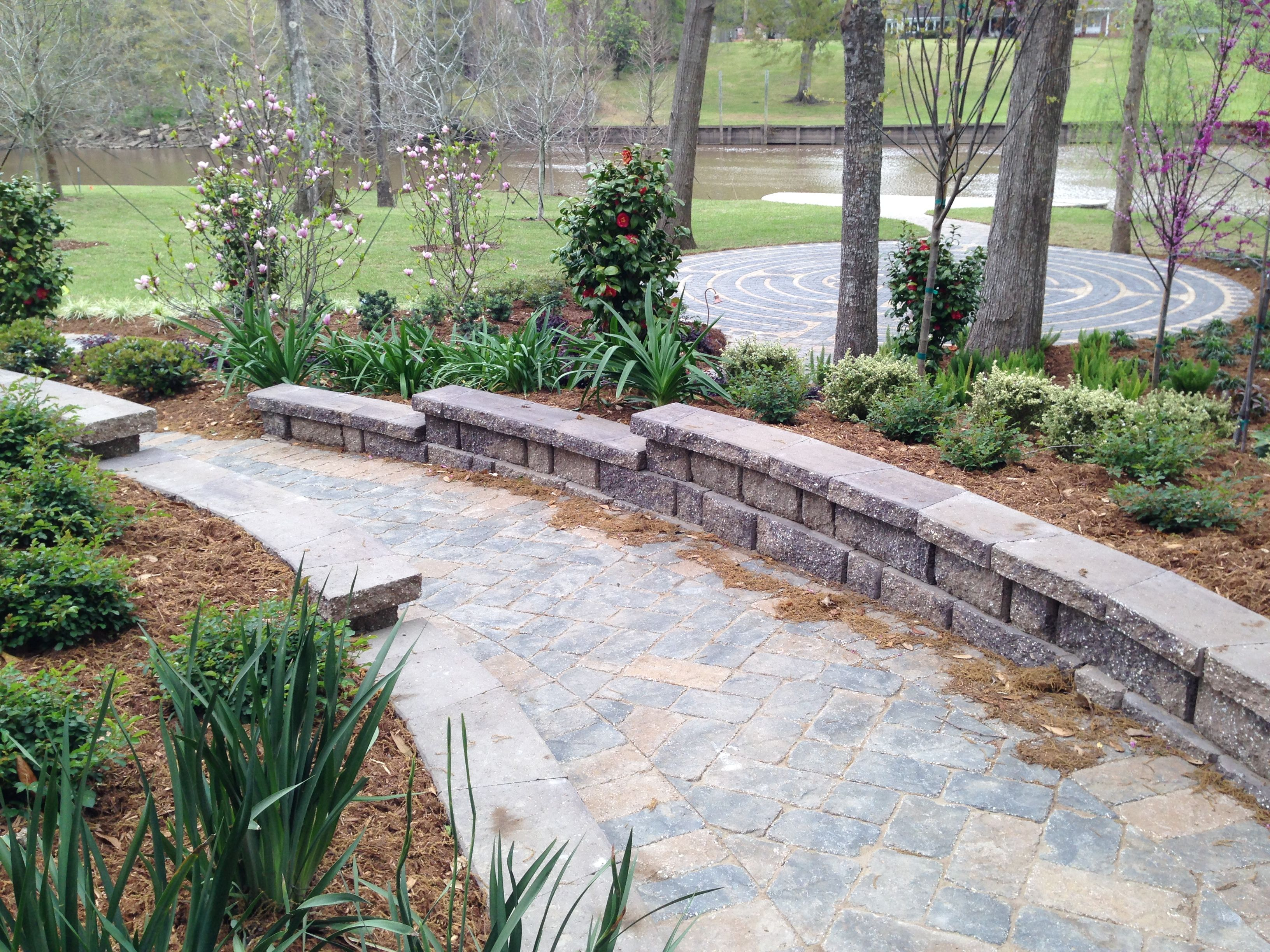 Stone Pathway In Downward Slope With Landscaping Our with regard to 14 Genius Ways How to Craft Landscaping Ideas For Downward Sloping Backyard