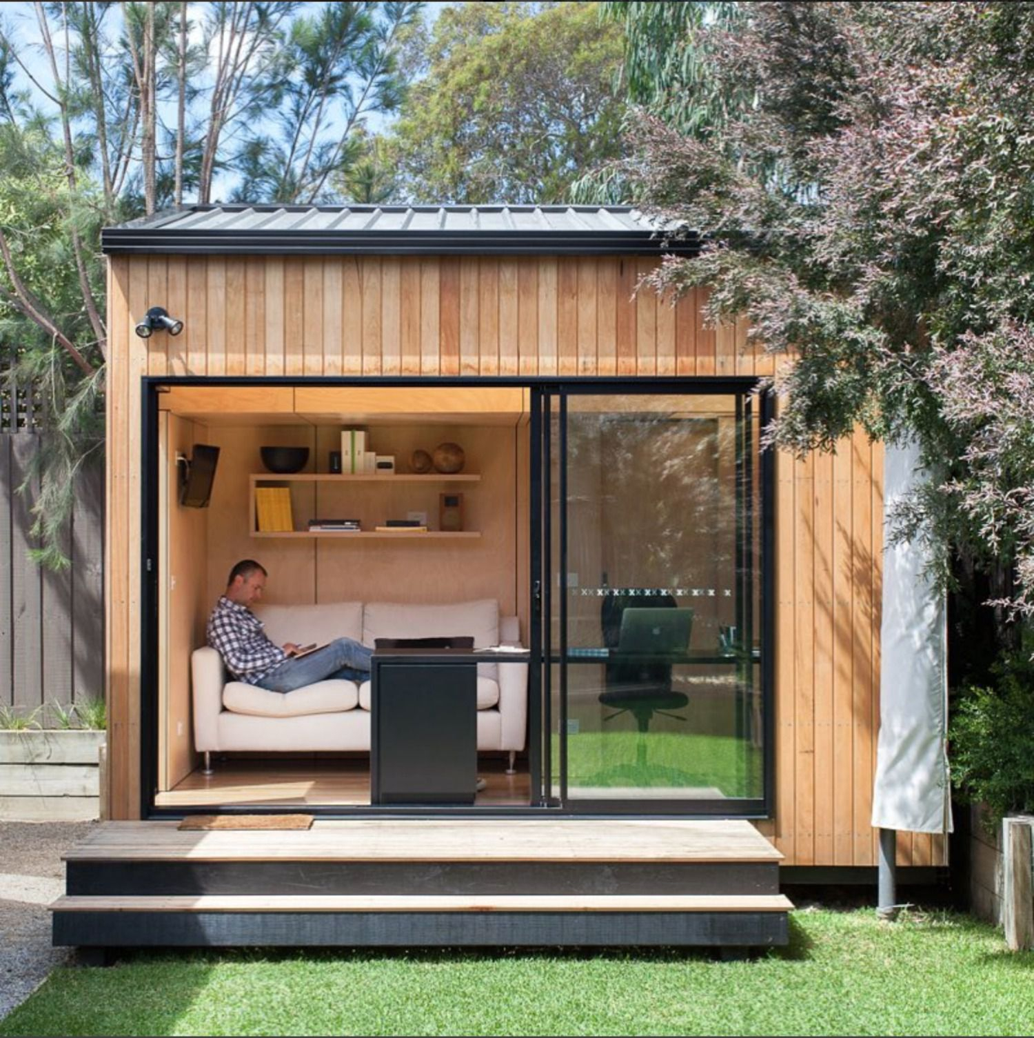 Stylish Shed Designs regarding 12 Smart Designs of How to Make Backyard Shed Ideas