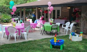 The Way Too Cool Outdoor Party Decorations Amazing Home in Backyard Birthday Decorations