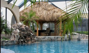 Tiki Hut Pool Tiki Bars Tiki Decorations Tiki Hut Tiki Decor inside 11 Some of the Coolest Ways How to Build Backyard Tiki Hut Ideas