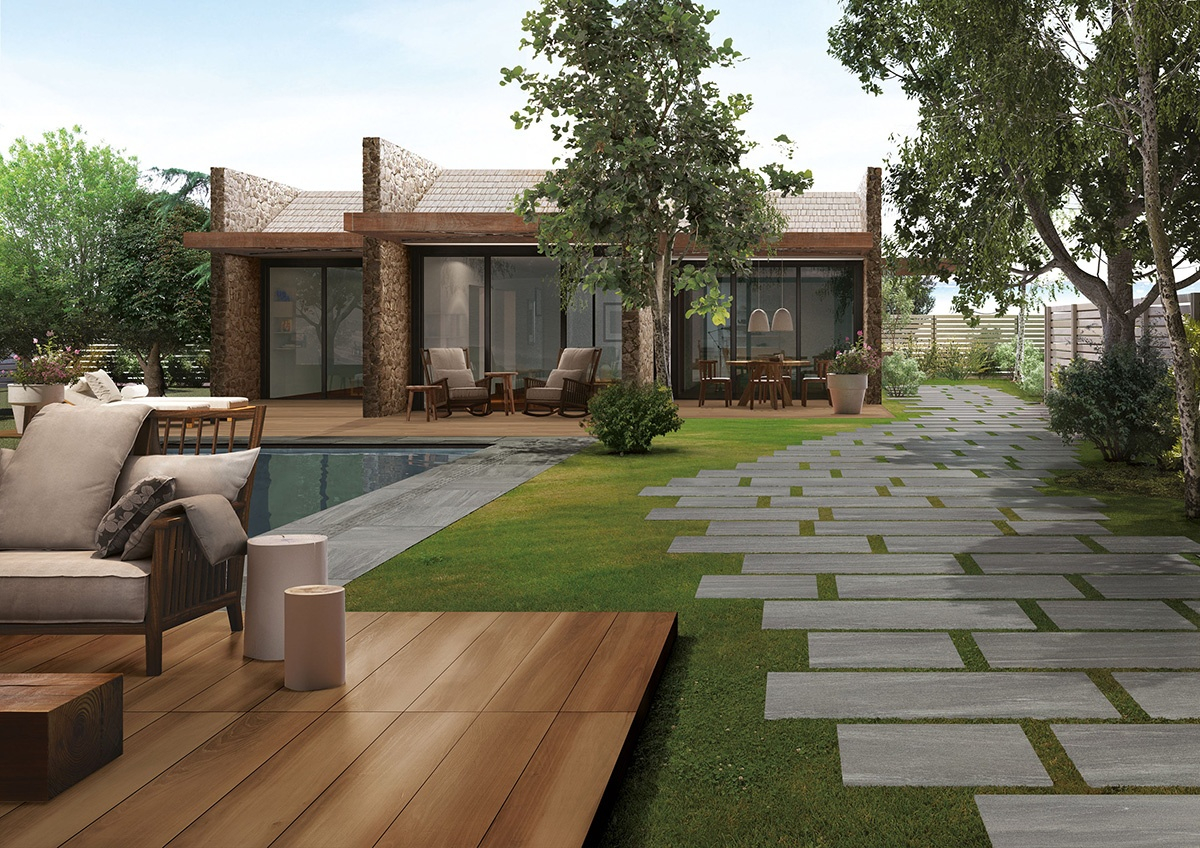Top 15 Outdoor Tile Ideas Trends For 2016 2017 intended for 11 Awesome Tricks of How to Upgrade Backyard Tiles Ideas