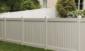 Vinyl Fencing Hulme Fence inside 10 Clever Initiatives of How to Make Backyard Vinyl Fence