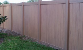Vinyl Fencing Vinyl Fence Curb Appeal Gardening Vinyl intended for Backyard Fencing Prices