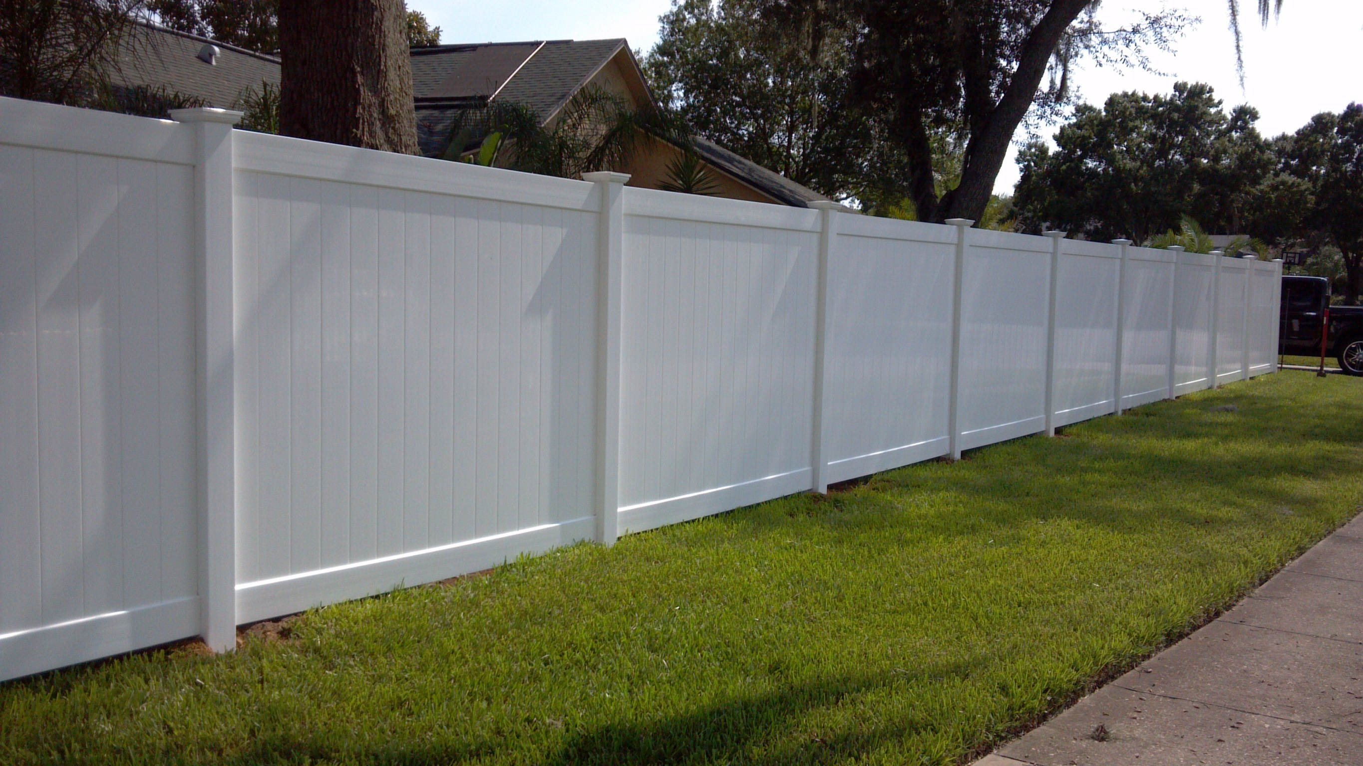 Were Not On The Fence About Vinyl Fencing Liberty Fence And Deck regarding Backyard Fence Company