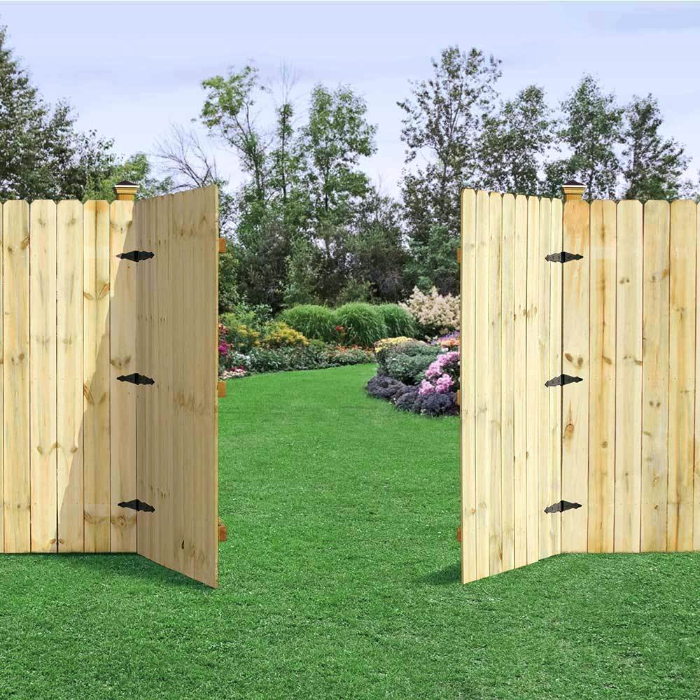 Wood Backyard Gates Fightshapeco in Backyard Fence Door