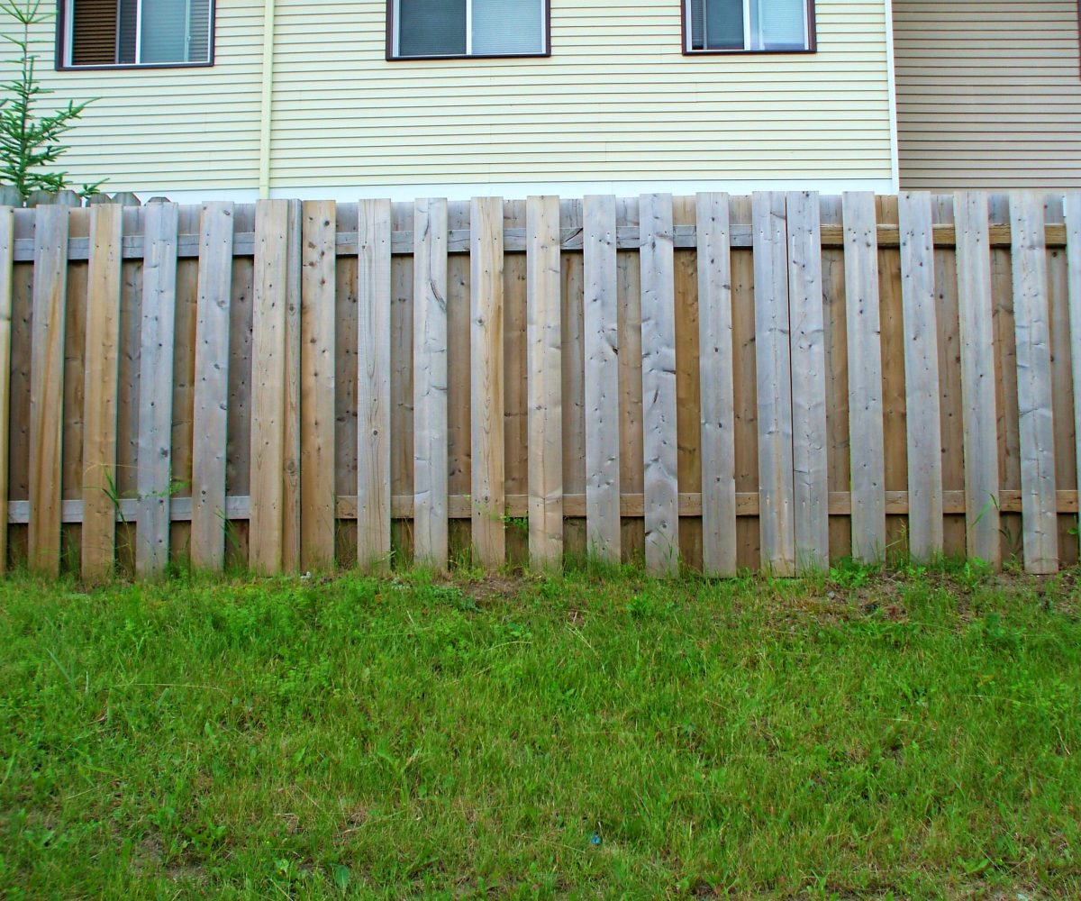 Wood Fence Cost In Pristine Horizontal Fence Wood Fencing
