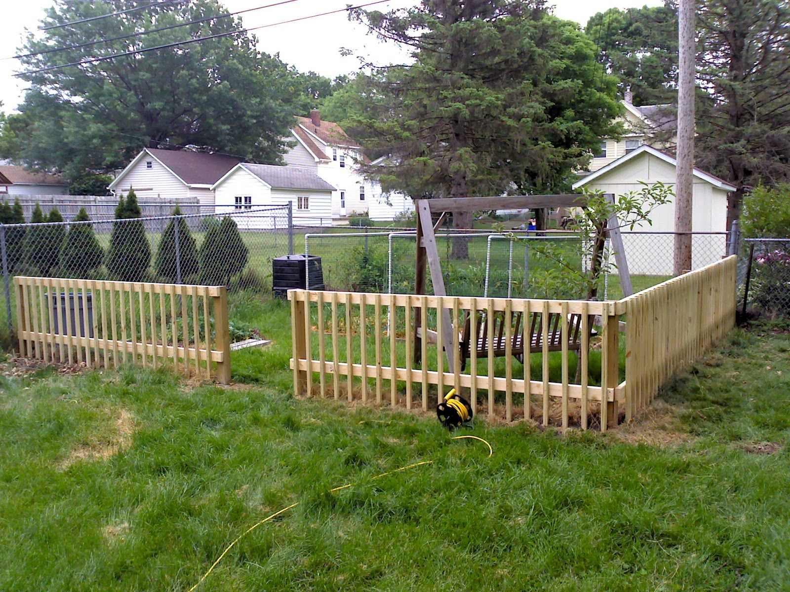 Wood Fence Ideas For Backyard Colors For Your Home Diy Garden with regard to 13 Awesome Concepts of How to Make Backyard Fencing Ideas
