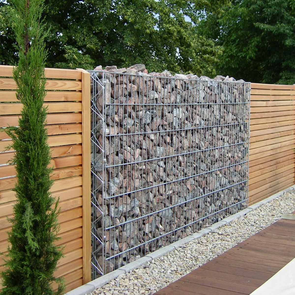 Yard Fencing 10 Modern Fence Ideas Family Handyman regarding Backyard Fencing