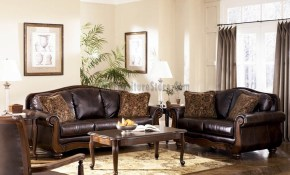 16 Wave To Flush Ashley Living Room Furniture Ideal Ashley with regard to North Shore Leather Living Room Set