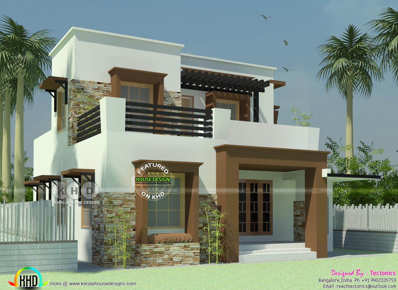 3 Bedroom House With Its Floor Plan Kerala Home Design for 15 Genius Ideas How to Upgrade 3 Bedroom Modern House Design