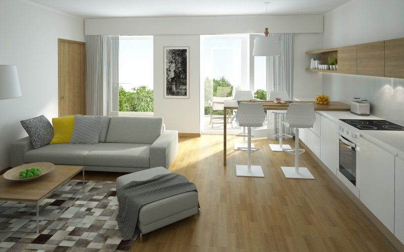 4 Furniture Layout Floor Plans For A Small Apartment Living for Apartment Living Room Setup