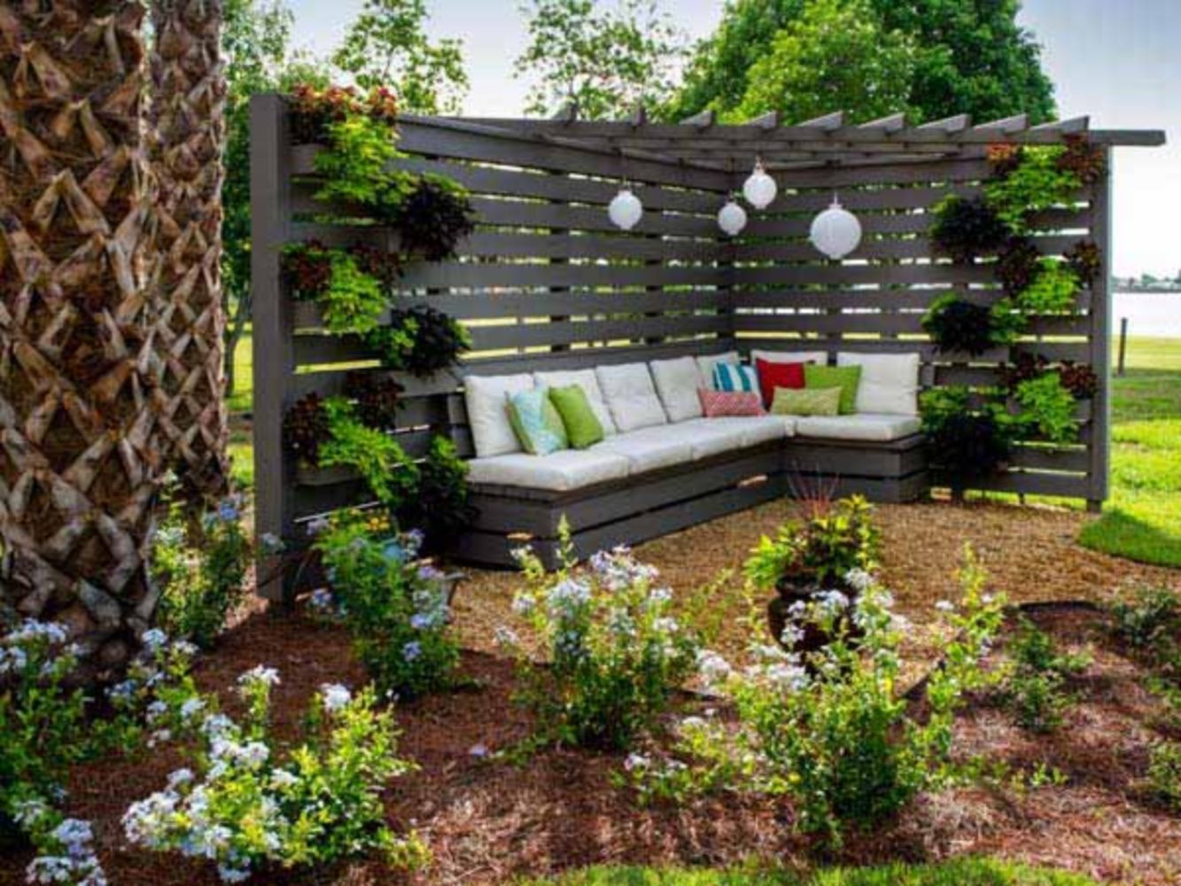 41 Attractive Outdoor Privacy Screen And Pergola Ideas with regard to Privacy Screen Ideas For Backyard