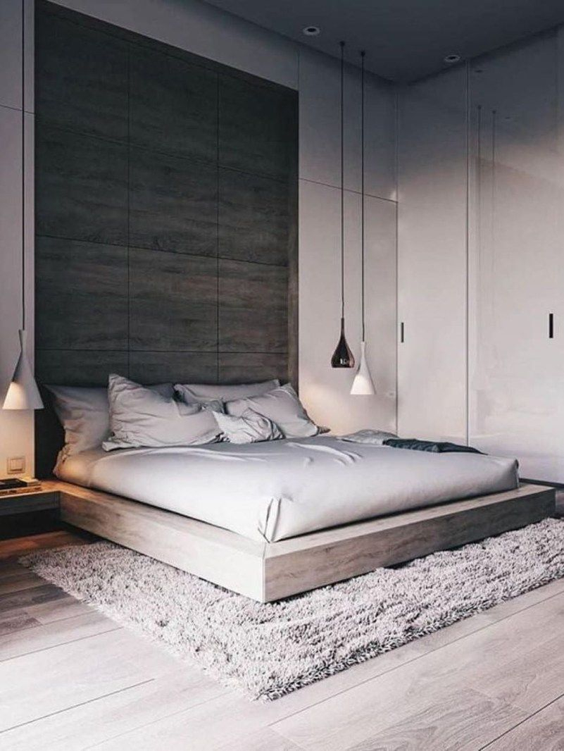 44 Stunning Minimalist Modern Master Bedroom Design Best in Modern Master Bedroom Colors