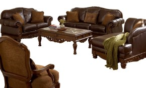 Ashley Furniture North Shore 3pc Living Room Set The pertaining to 12 Smart Designs of How to Build North Shore Leather Living Room Set