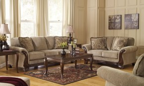 Ashley Lanett 4 Piece Living Room Set In Barley 44900 38 35 inside 15 Some of the Coolest Initiatives of How to Improve 14 Piece Living Room Set