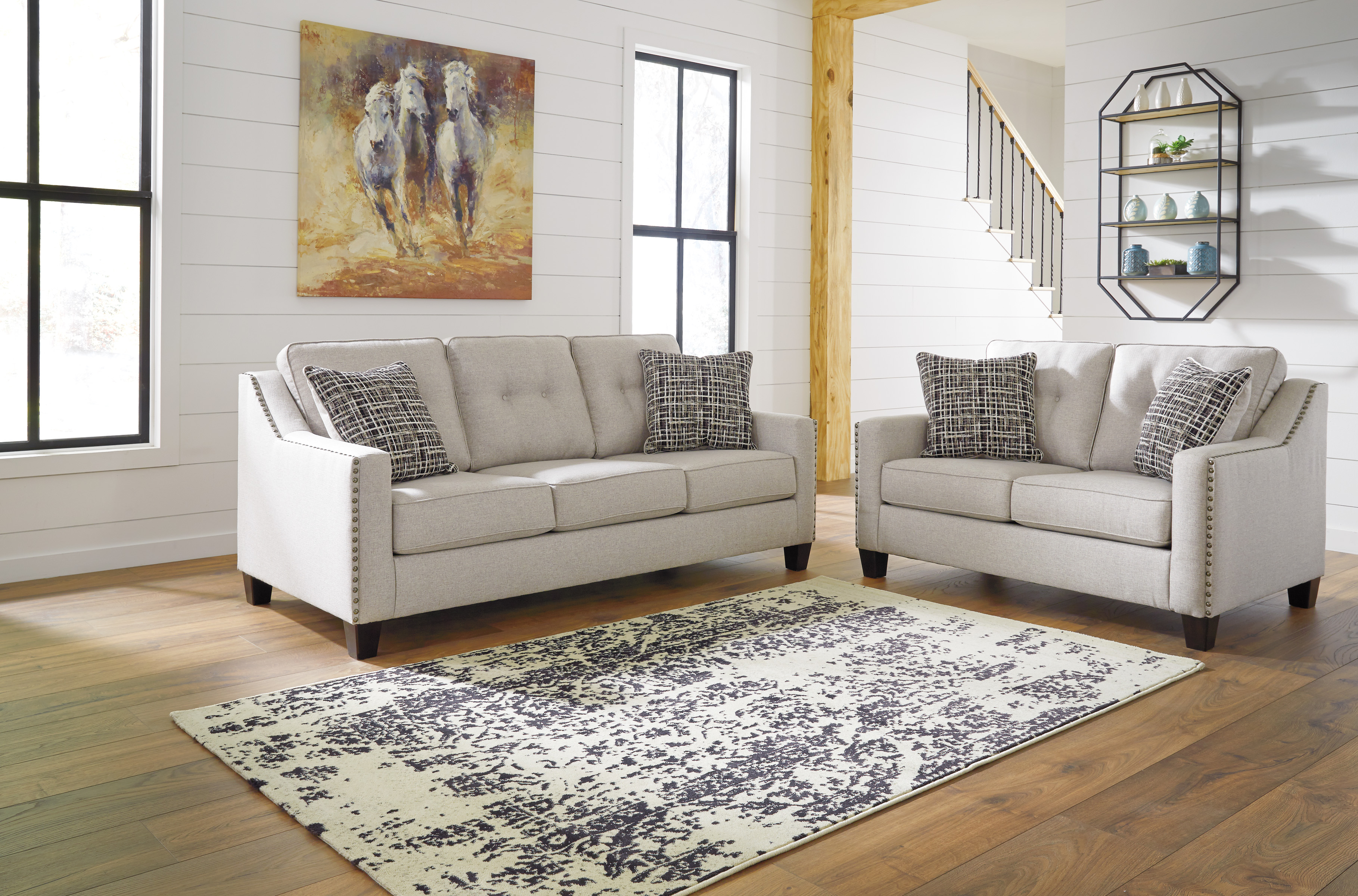 Ashley Marrero 2pc Living Room Set throughout Living Room Sets Online