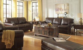 Banner Stationary Living Room Group Signature Design Ashley At Royal Furniture with regard to Living Room Sets For Sale