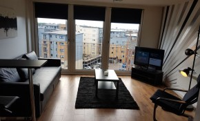 Beautiful Modern 1 Bedroom Apartment Close To City Centre Glasgow intended for Beautiful Modern Bedrooms