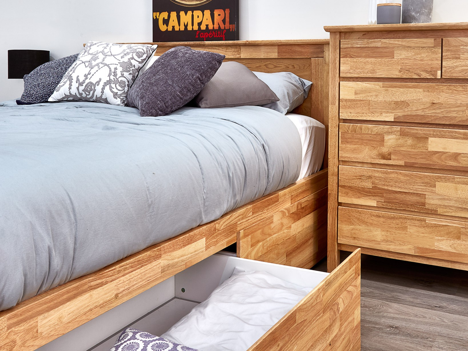 Coco 8pce King Size Storage Bedroom Suite Natural Hardwood Frames for 14 Some of the Coolest Initiatives of How to Makeover Modern Bedroom Suites