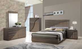 Contemporary Gold Zebra Led Bedroom Set throughout 10 Awesome Initiatives of How to Make Modern Bedroom Collections