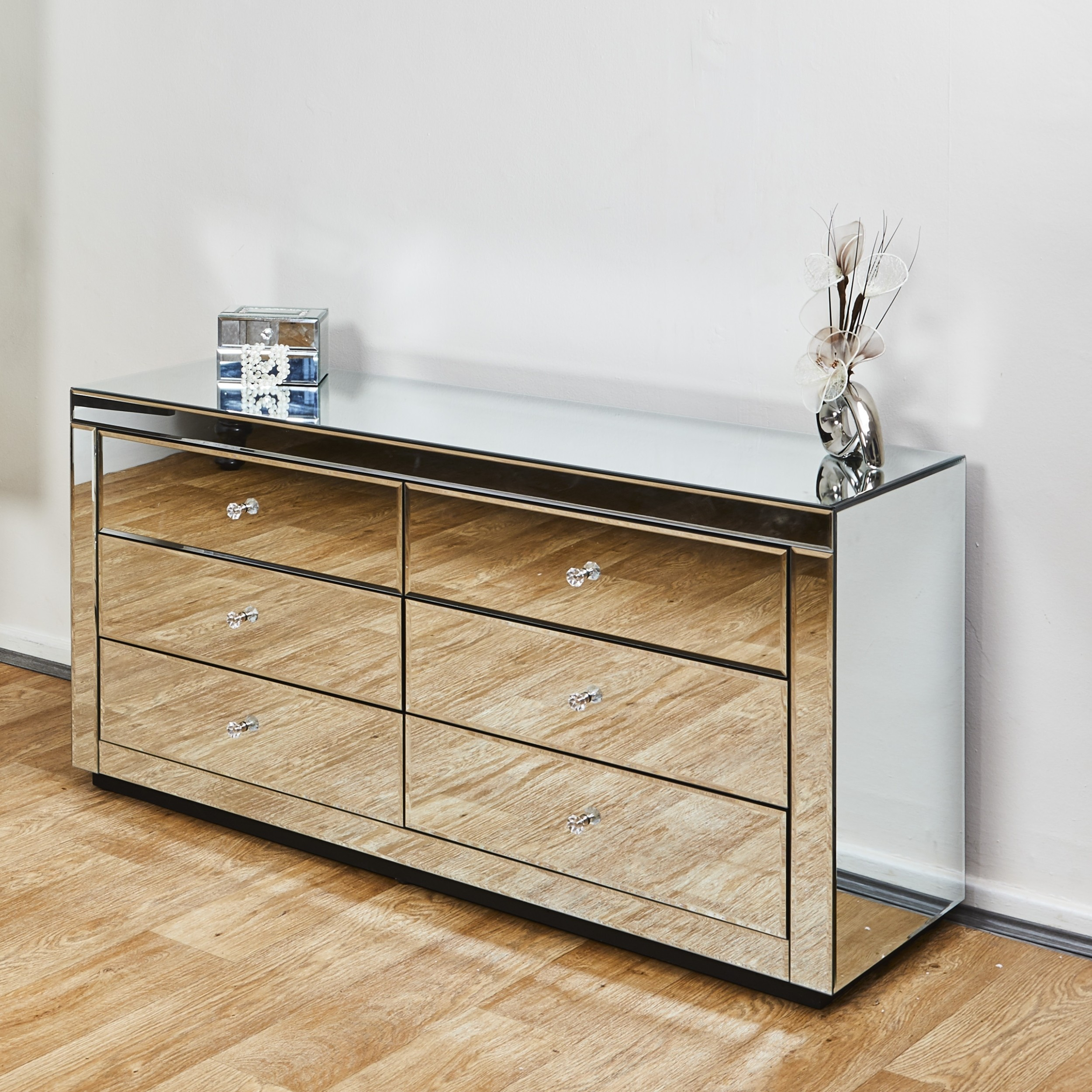 Details About Venetian Mirrored Chest 6drawers Modern Bedroom Storage Lounge Furniture Cabinet with Modern Bedroom Storage