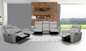 Elegant Leather Living Room Set With Tufted Stitching Elements within Living Rooms Sets For Cheap