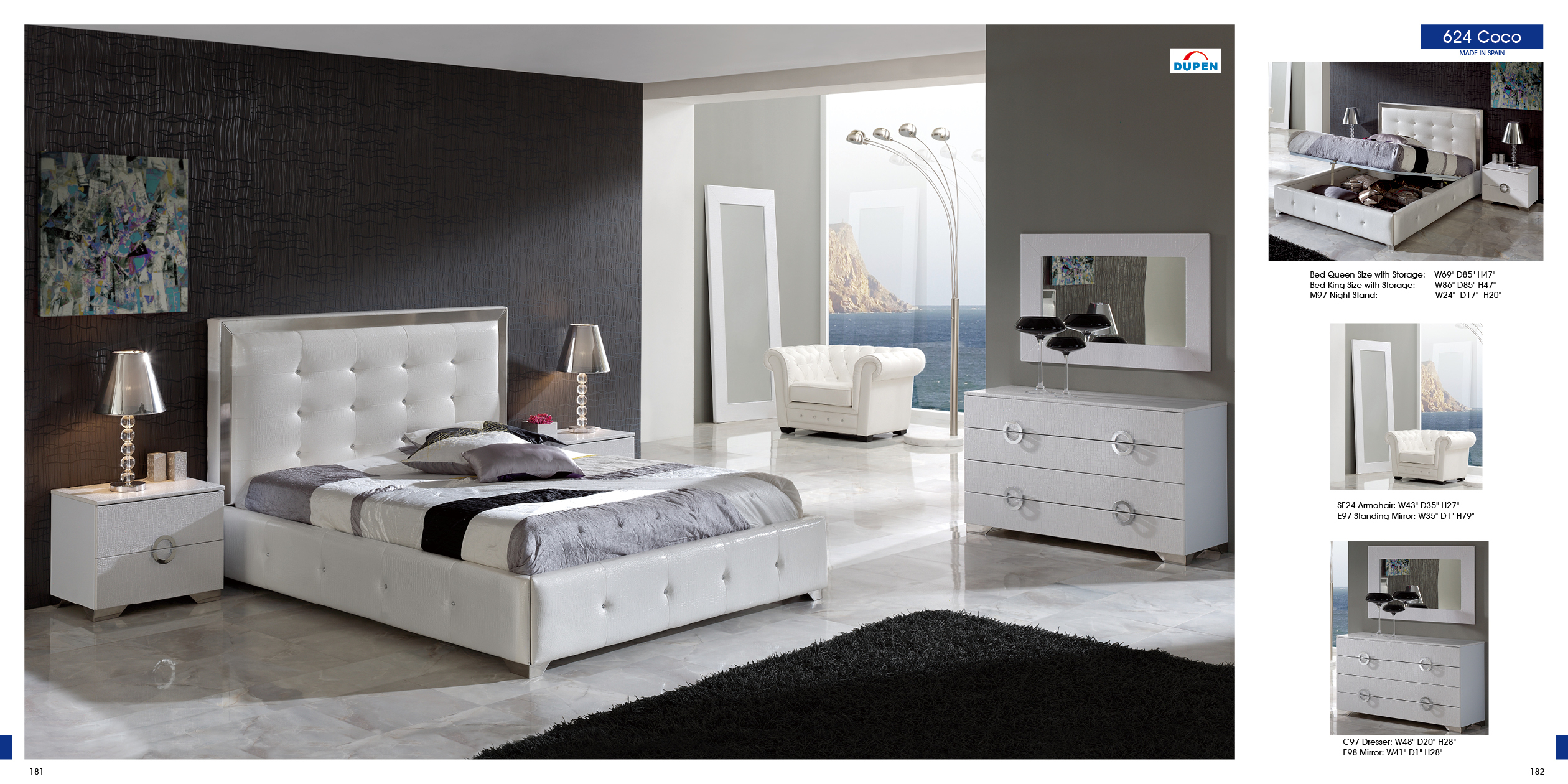 Fantastic Modern White Bedroom Furniture Cileather Home with regard to Modern White Bedroom Sets