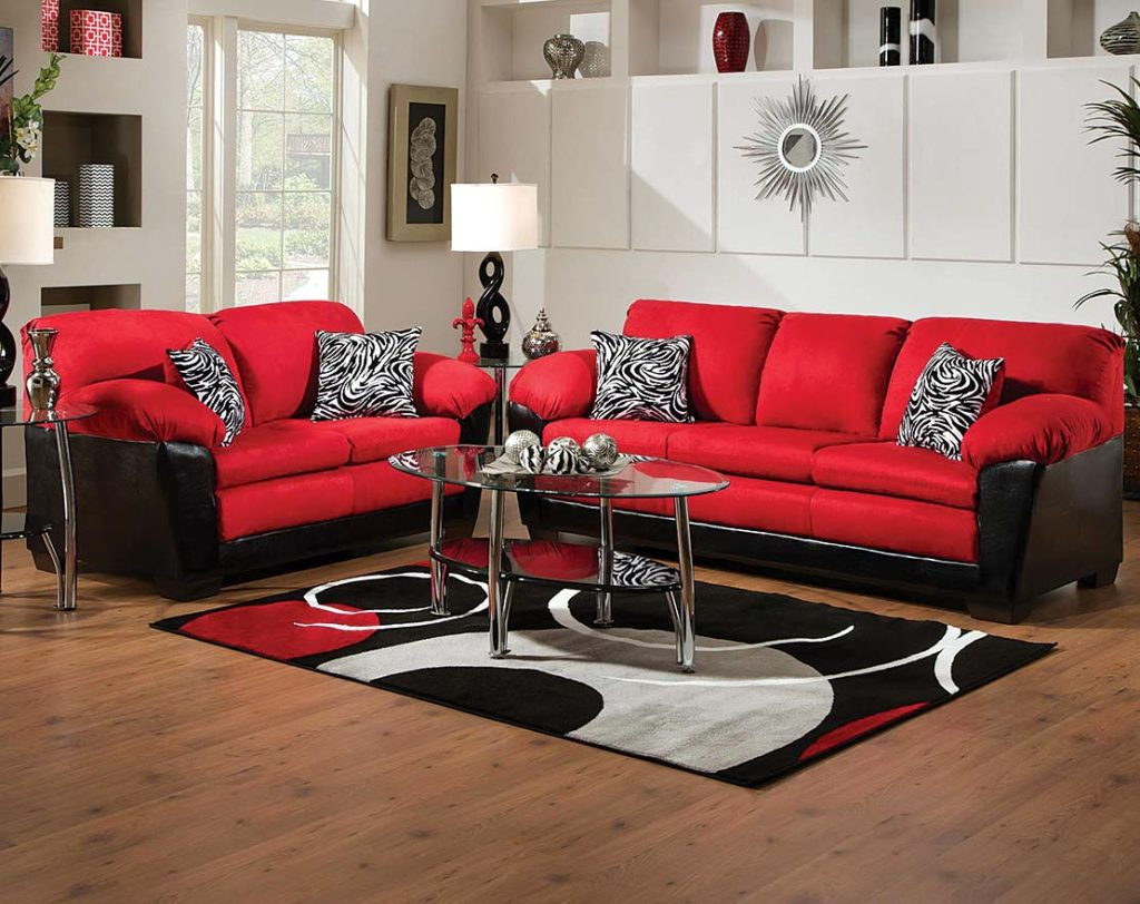 Glamorous Red And Black Living Room Sets Furniture Walls pertaining to 14 Smart Designs of How to Build Red And Black Living Room Set