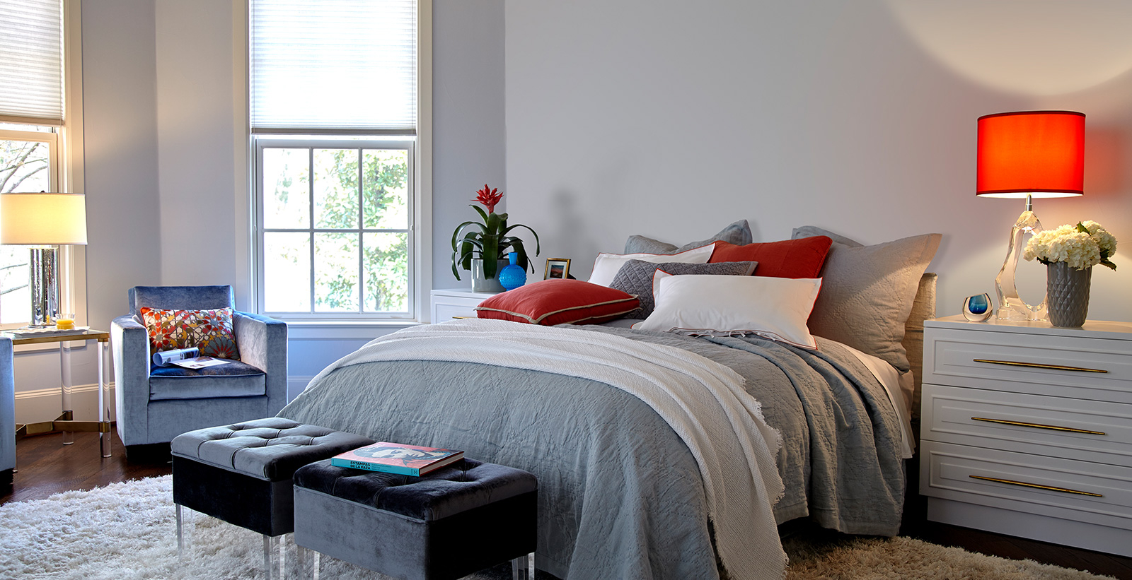 Gray Bedroom Walls Ideas And Inspiration Behr pertaining to Modern Gray Bedroom
