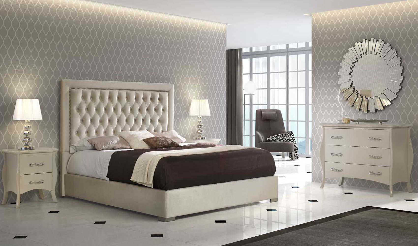 High End Modern Design Cream Bedroom Set throughout 10 Awesome Initiatives of How to Make Modern Bedroom Collections