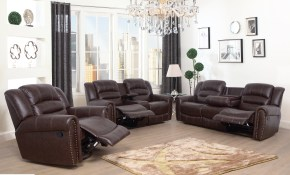 Kora 3 Piece Reclining Living Room Set pertaining to Living Room 3 Piece Sets