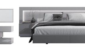 Levanto Modern Bedroom Set With Lighting throughout 10 Awesome Initiatives of How to Makeover Bedroom Sets Modern
