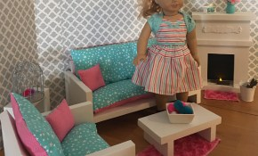 Living Room Set For 18 Dolls Fits The American Girl Dolls in 14 Genius Tricks of How to Build 18 Inch Doll Living Room Set