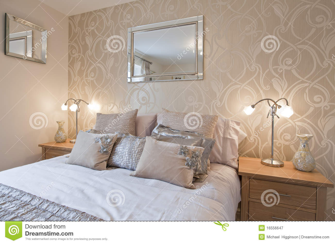 Modern Chic Bedroom Stock Image Image Of Opulent Apartment for Modern Chic Bedroom