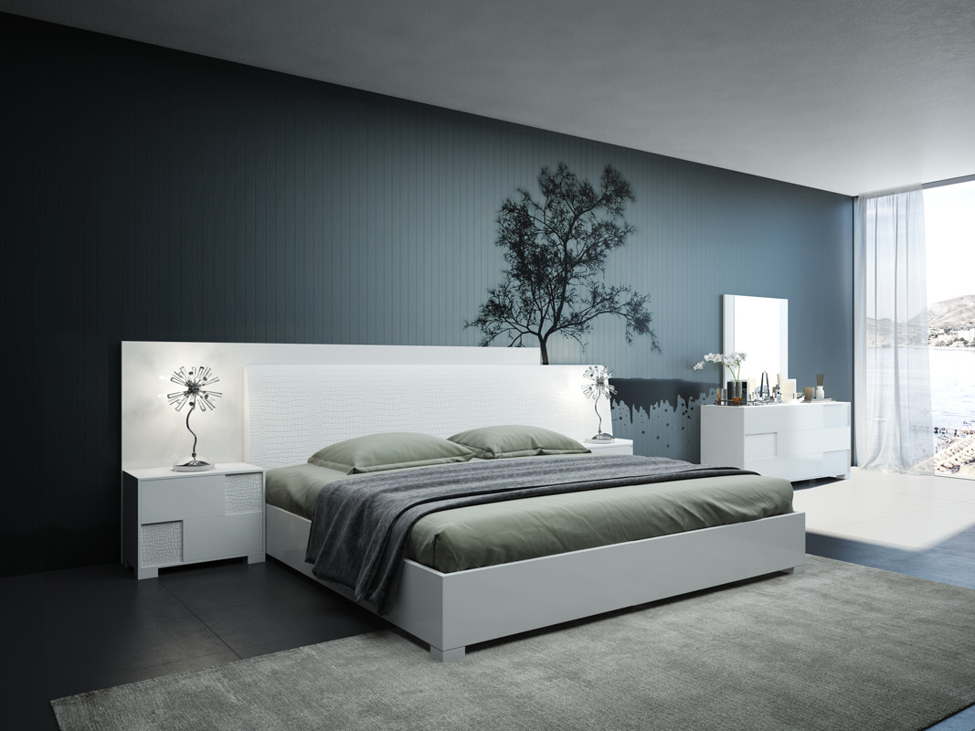Modrest Monza Italian Modern White Bedroom Set throughout 15 Some of the Coolest Concepts of How to Craft Modern Italian Bedroom Set