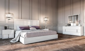 Modrest Nicla Italian Modern White Bedroom Set intended for 15 Genius Ways How to Makeover Modern Italian Bedroom Sets