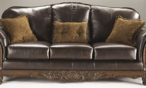 North Shore Dark Brown Sofa 2260338 Ashley Furniture with regard to 12 Smart Designs of How to Build North Shore Leather Living Room Set
