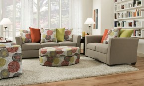 Playground Light French Gray Sofa And Love with regard to 11 Smart Designs of How to Improve Living Room Set Prices