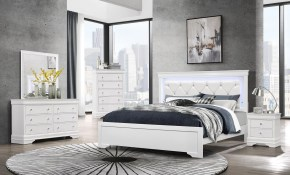 Pompei White Queen Size Bed pertaining to 15 Genius Ideas How to Makeover Modern White Bedroom Sets