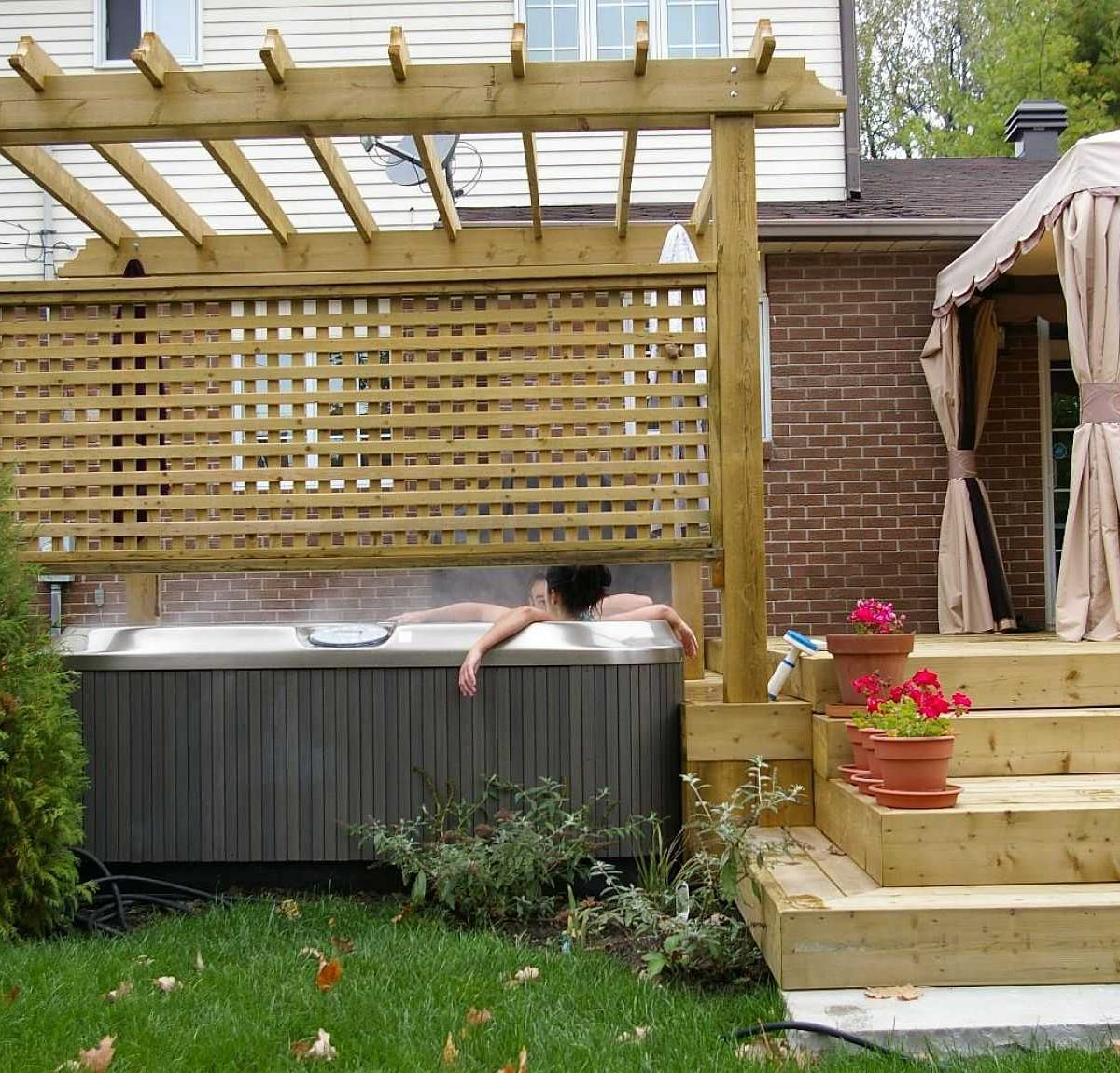 Privacy Fence Patio Backyard Ideas Fresh Decorative Wooden regarding The Most Amazing Privacy Screen Ideas for Backyard intended for Residence