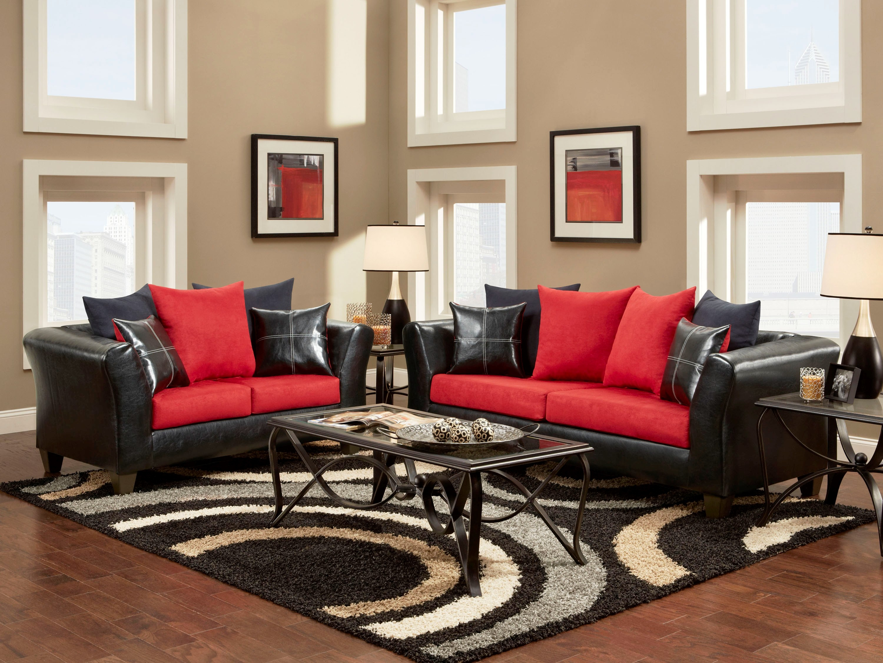 Red Black And White Living Room Set Living Room Ideas with 14 Smart Designs of How to Build Red And Black Living Room Set