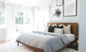 Room Repeat Airy Mid Century Master Bedroom Taylor Schaap throughout Modern Bedroom Decorating Ideas